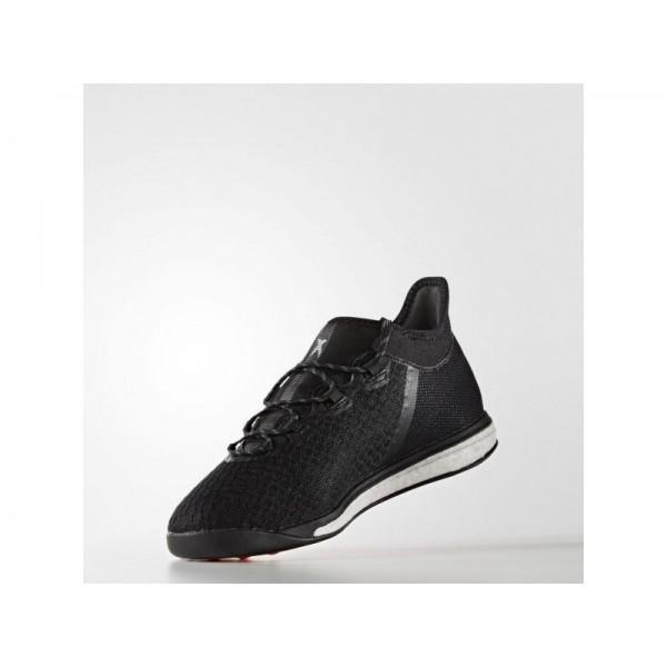 Fußballschuhe Adidas 'X 16.1 Street Fußballschuh' Schwarz/Nacht Met. F13/Solar Red Schuhe für Mädchen