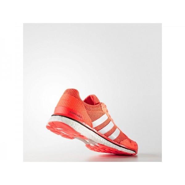 ADIZERO ADIOS 3 adidas Damen Running Schuhe - Solar-Rot/Ftwr Weiß/Shwarz-Cre