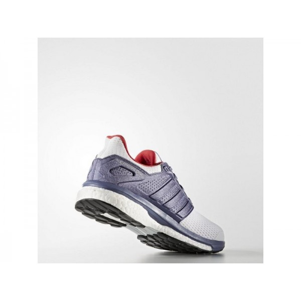 SUPERNOVA GLIDE 8 adidas Damen Running Schuhe - Ftwr Weiß/Sper Lla S66/Ry Rd F6