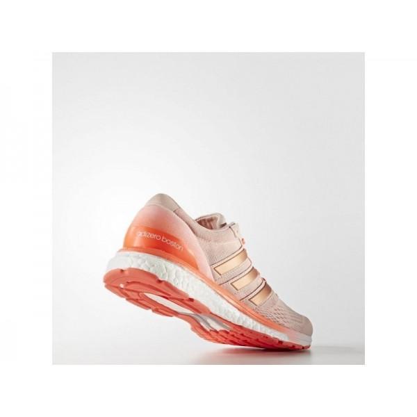 ADIZERO BOSTON 6 adidas Damen Running Schuhe - Dampf Rosa F16/Dampf Rosa F16/Solar Red