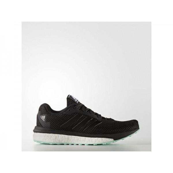 VENGEFUL adidas Damen Running Schuhe - Core-Schwarz/Core-Schwarz/Ice Grün F16