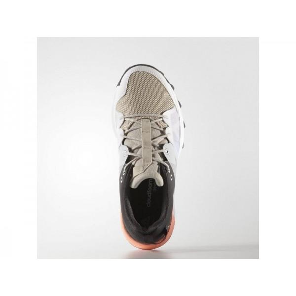 KANADIA 8 TRAIL adidas Damen Running Schuhe - Durchsichtig Braun/Silber/Sun Glow S16