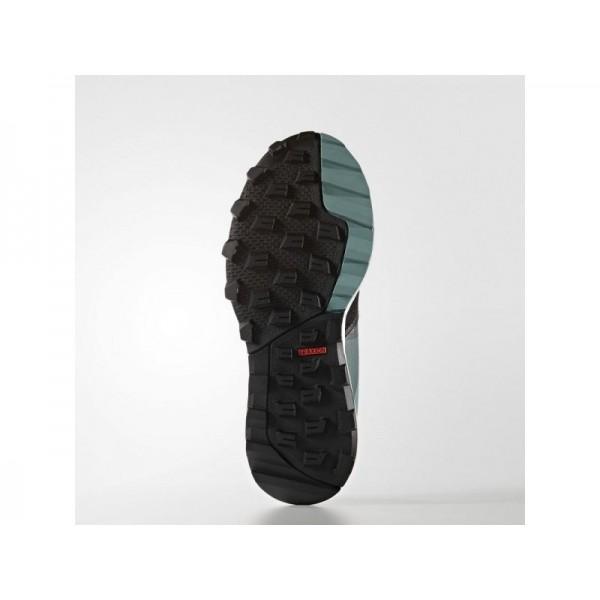 KANADIA 8 TRAIL adidas Damen Running Schuhe - Core-Schwarz/Ftwr Weiß/Dmpf Sahl F6