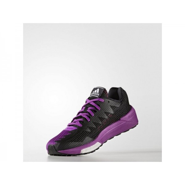 VENGEFUL adidas Damen Running Schuhe - Shock Lila F16/Kern Schwarz/Shock Rosa S16