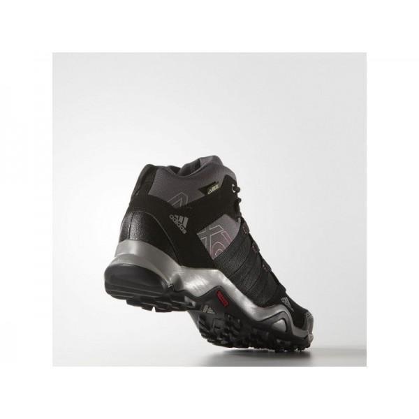AX 2.0 MID GTX adidas Damen Outdoor Schuhe - Kohlenstoff/Schwarz/Grau Sharp