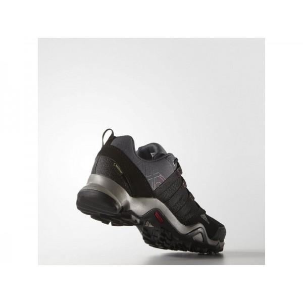 AX2 GTX adidas Damen Outdoor Schuhe - Kohlenstoff/Schwarz/Bahia Rosa