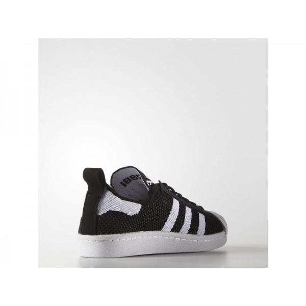 SUPERSTAR 80S PRIMEKNIT adidas Damen Originals Schuhe - Core-Schwarz/Weiß