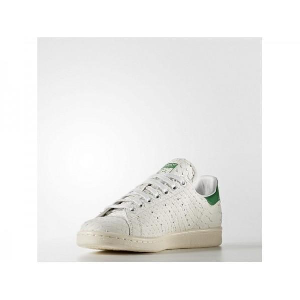 STAN SMITH adidas Damen Originals Schuhe - Crystal White S16/Crystal White S16/Grün