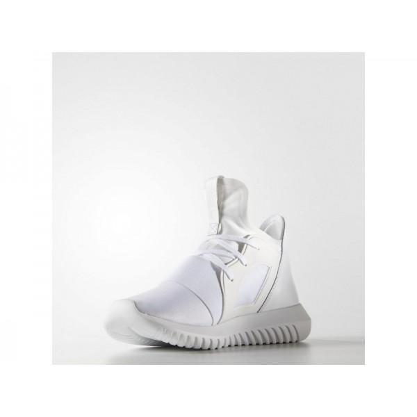 TUBULAR DEFIANT adidas Damen Originals Schuhe - Core-Weiß/Shwarz-Cre