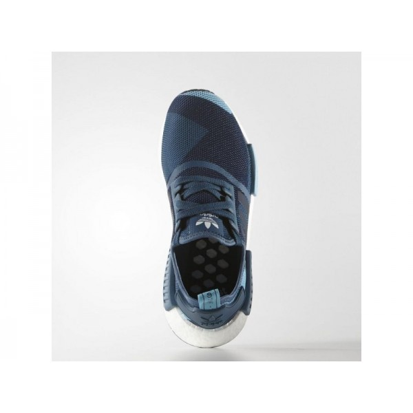 NMD R1 adidas Damen Originals Schuhe - Blanch Blau/Collegiate Navy