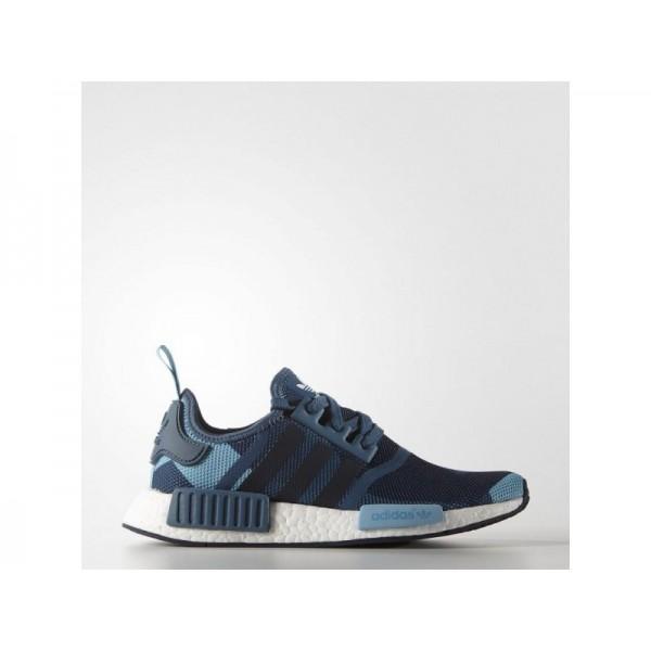 NMD R1 adidas Damen Originals Schuhe - Blanch Blau...