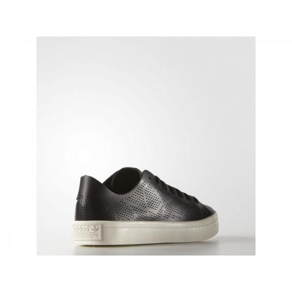 COURT VANTAGE adidas Damen Originals Schuhe - Core-Schwarz/Weiß