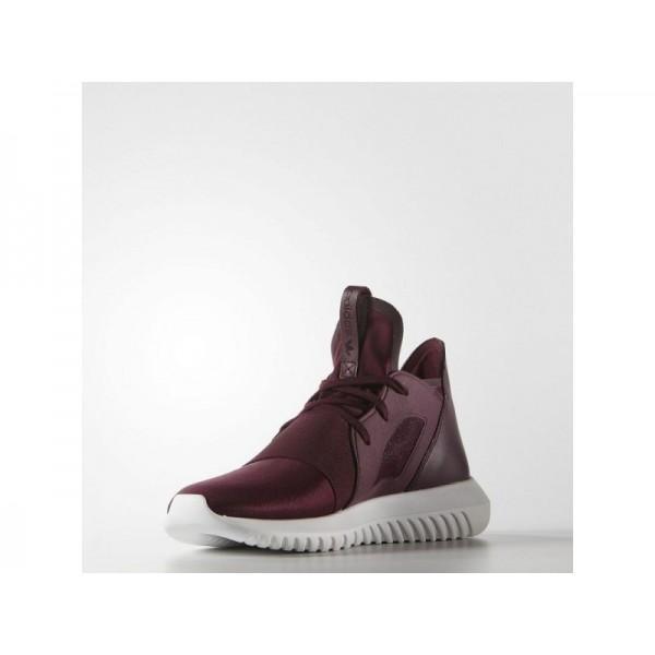 TUBULAR DEFIANT adidas Damen Originals Schuhe - Maroon/Maroon/Core-Weiß
