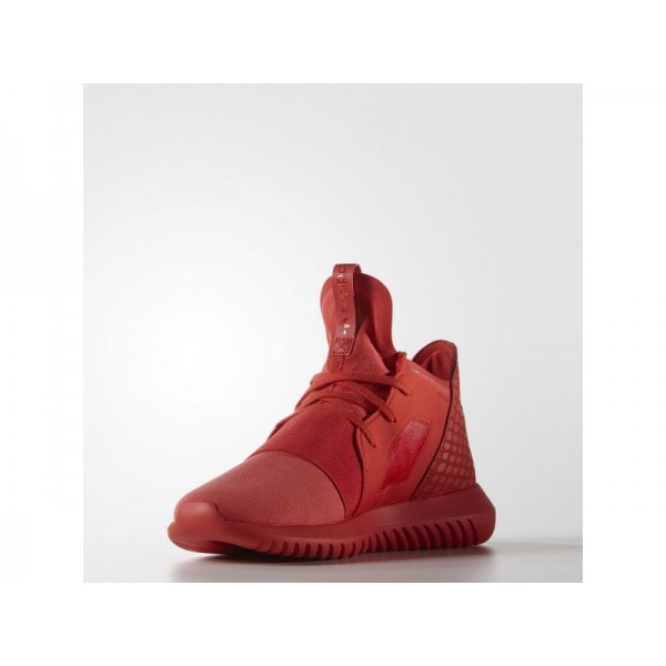 TUBULAR DEFIANT adidas Damen Originals Schuhe - Lush Rot/Lush Rot/Weiss