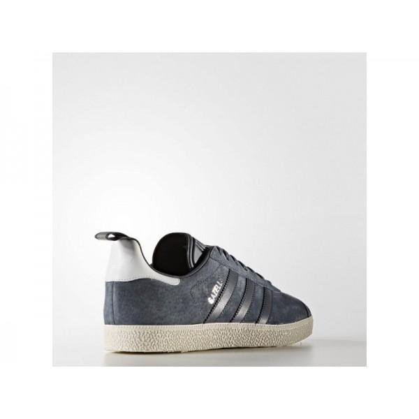 GAZELLE adidas Damen Originals Schuhe - Utility-Blau F16/Utility Blau F16/Silber Met.