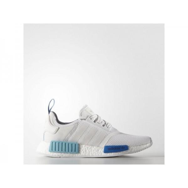 NMD R1 adidas Damen Originals Schuhe - Weiß/Bau-G...