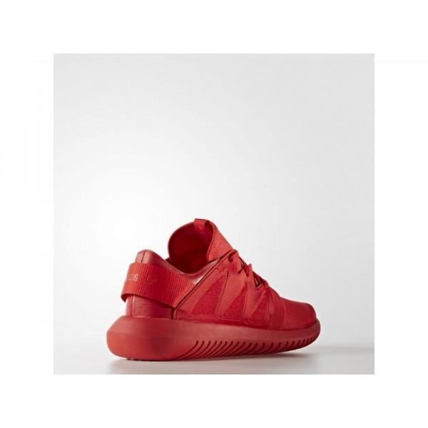 TUBULAR VIRAL adidas Damen Originals Schuhe - Kräftiges Rot S13/Kräftiges Rot S13/Kräftiges Rot S13
