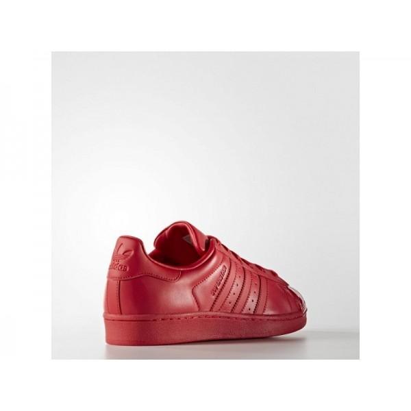 SUPERSTAR adidas Damen Originals Schuhe - Ray Red F16/Ray Red F16/Kern Schwarz
