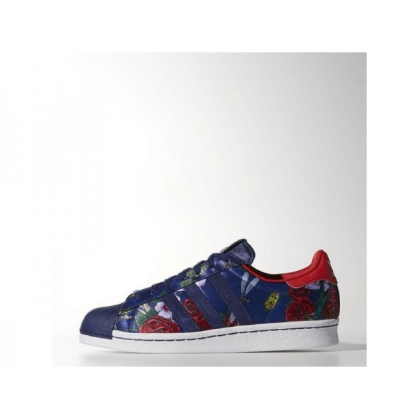 SUPERSTAR 80S RITA adidas Damen Originals Schuhe - Nachthimmel/Nachthimmel/Rot