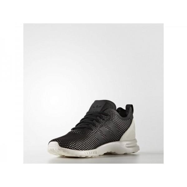 ZX FLUX ADV SMOOTH adidas Damen Originals Schuhe - Core-Schwarz/Core-Schwarz/Weiß-Cre