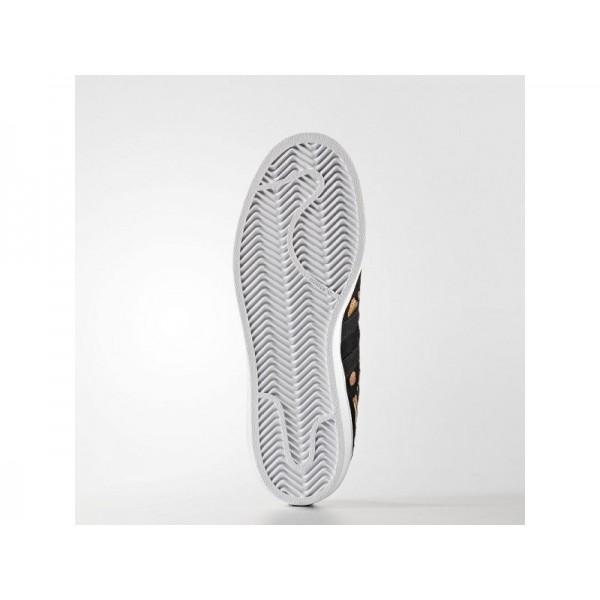 SUPERSTAR adidas Damen Originals Schuhe - Core-Schwarz/Core-Schwarz/Kupfer Met.