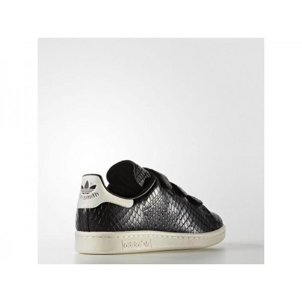 STAN SMITH adidas Damen Originals Schuhe - Core-Schwarz/Core-Schwarz/Weiß
