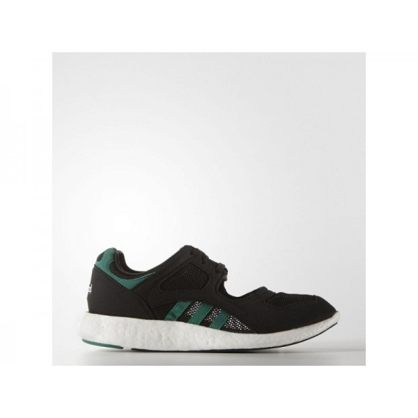Adidas Damen EQT Originals Schuhe - Black/Sub Green/White