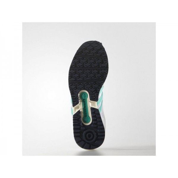 Adidas Damen EQT Originals Schuhe Verkaufen - White/Shock Mint/Blue S78857