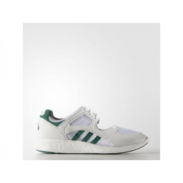 Adidas Damen EQT Originals Schuhe Verkaufen - White/Green/Black Adidas S75212