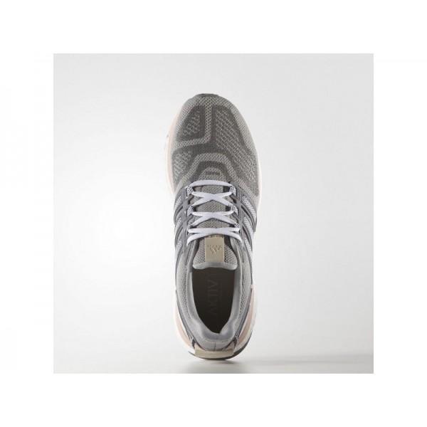 Adidas Damen Energy Boost Running Schuhe - Mid Grey S14/Night Navy/Vapour Pink F16
