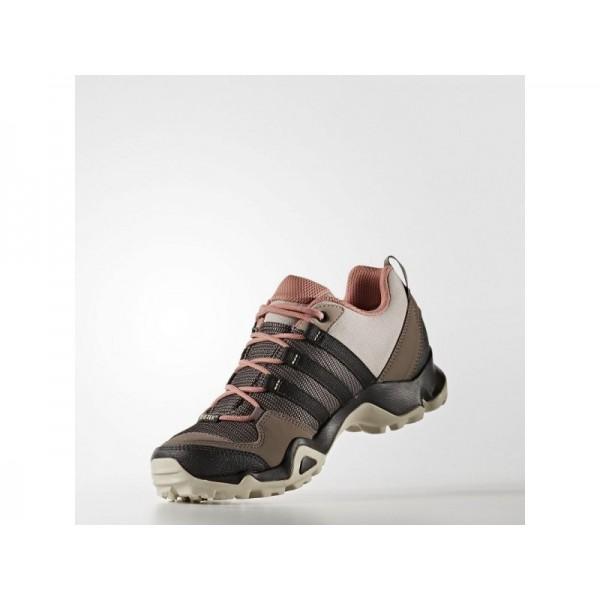 Adidas Damen AX Outdoor Schuhe - Vapour Grey F16/Black/Raw Pink F15