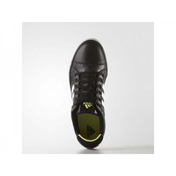 Adidas Damen Adicross Golf Schuhe - Black/White/Sunny Lime Adidas F33339
