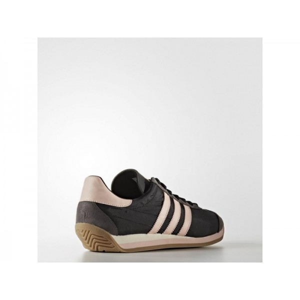 Adidas Damen Country OG Originals Schuhe - Black/Vapour Pink F16/Gum4