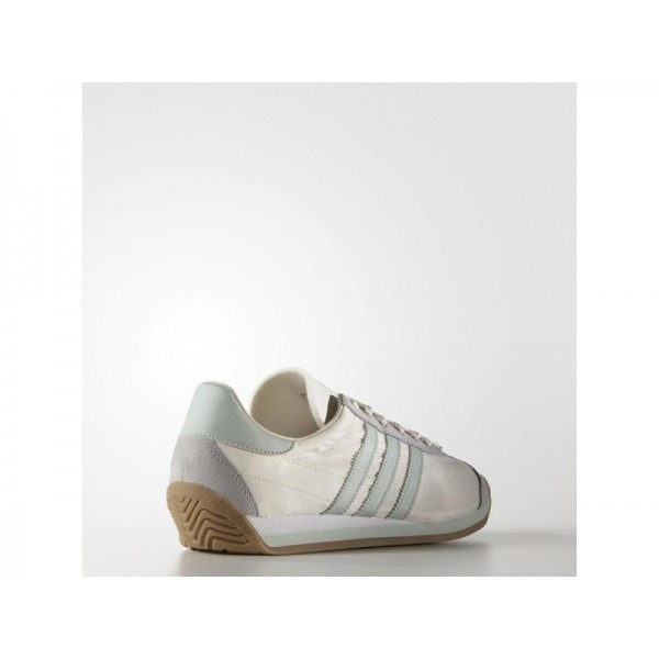 Adidas Damen Country OG Originals Schuhe - Chalk White/Vapour Green F16/Gum4