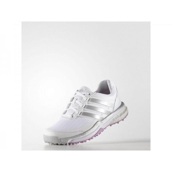 Adidas Damen Adicross Golf Schuhe Verkaufen - White/Matte Silver/Wild Orchid Adidas F33287