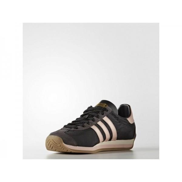 Adidas Damen Country OG Originals Schuhe - Chalk White/Vapour Green F16/Gum4
