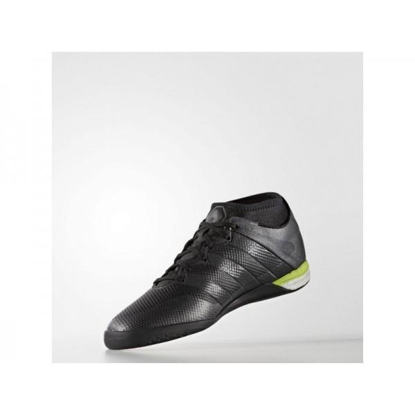 Fußballschuhe Adidas 'ACE 16.1 Primemesh Street Fußballschuh' Schwarz/Solar Gelb Schuhe für Mädchen