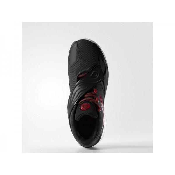 D ROSE ENGLEWOOD BOOST adidas Herren Basketball Schuhe - Dgh Fest Grau/Ray Rot F16/Kern Schwarz