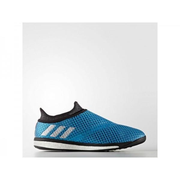 Fußballschuhe Adidas 'Messi 16.1 Street Fußballschuh' Shock Blau S16/Nacht Met. F13/Schwarz Schuhe für Mädchen