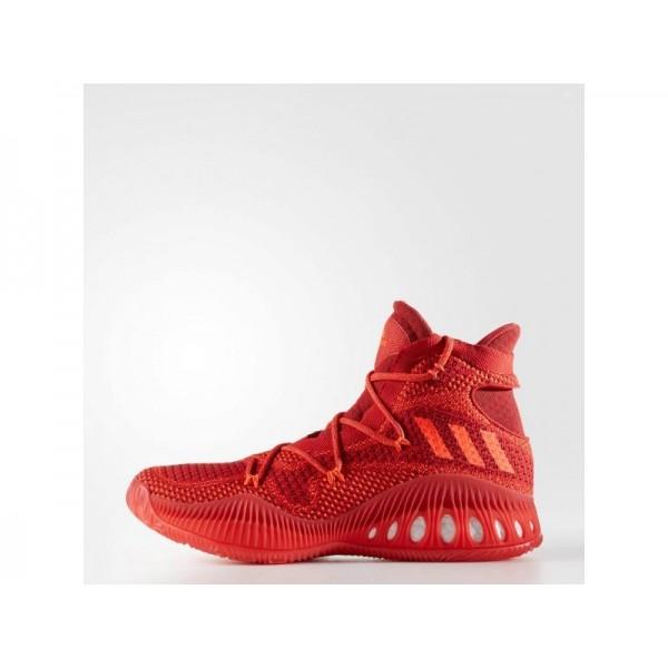 CRAZY EXPLOSIVE PRIMEKNIT adidas Herren Basketball Schuhe - Red-Sld/Scarlet/Solar Red