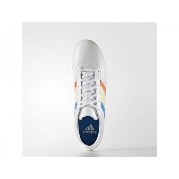Fußballschuhe Adidas 'Gloro 16.1 FG Fußballschuh' FTWR Weiß/Solar-Gelb/Blau Shock S16 Schuhe für Mädchen