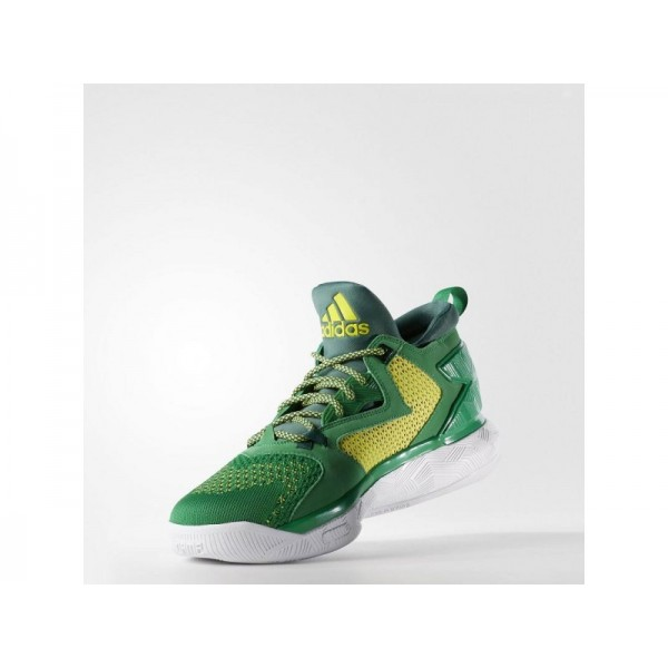 D LILLARD 2.0 PRIMEKNIT adidas Herren Basketball Schuhe - Grün/Collegiate Grün/Bright Yellow