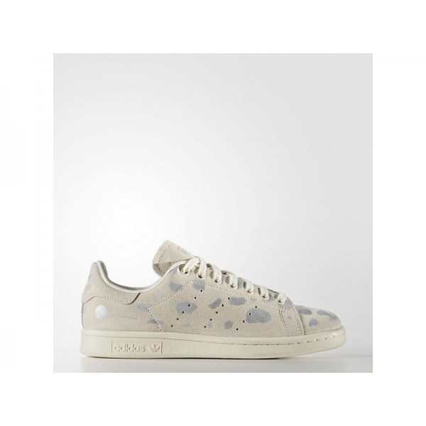 STAN SMITH adidas Damen Originals Schuhe - Off White/Weiß/Slber Mt.