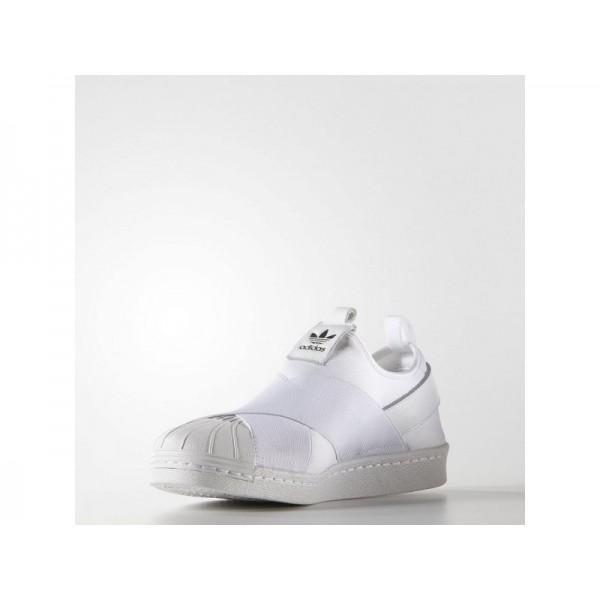 SUPERSTAR SLIP-ON adidas Damen Originals Schuhe - Weiß/Shwarz-Cre