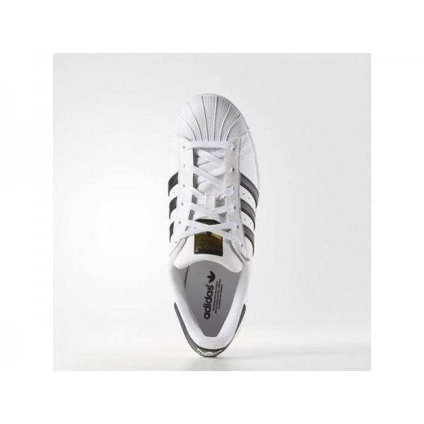 SUPERSTAR adidas Damen Originals Schuhe - Weiß/Shwarz-Cre