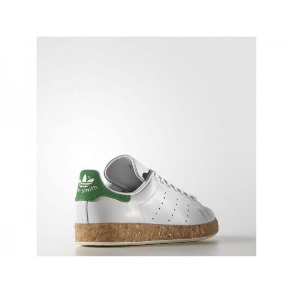 STAN SMITH LUXE adidas Damen Originals Schuhe - Weinlese-Weiß/Gün
