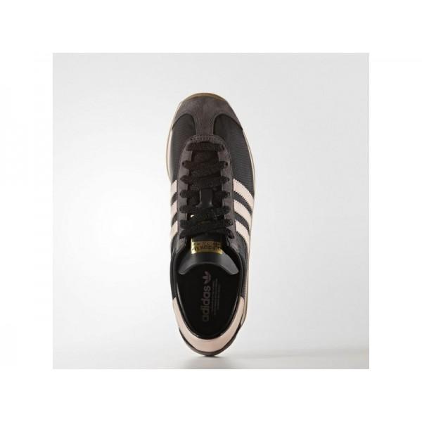 COUNTRY OG adidas Damen Originals Schuhe - Core-Schwarz/Dampf Rosa F16/Gum4