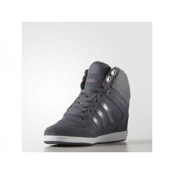 SUPER WEDGE adidas Damen adidas neo Schuhe - Onix/Onix/Bopink