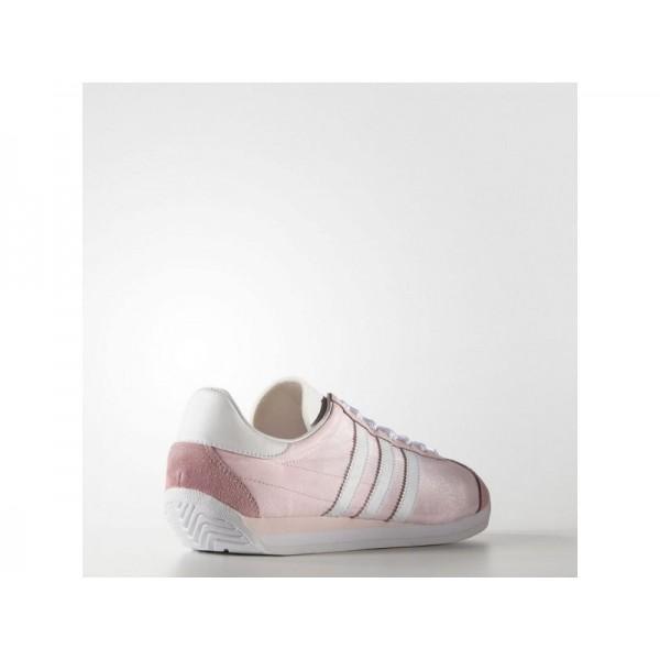 COUNTRY OG adidas Damen Originals Schuhe - Halo Rosa S16/Ftwr Weiß/Hlo Rsa S6