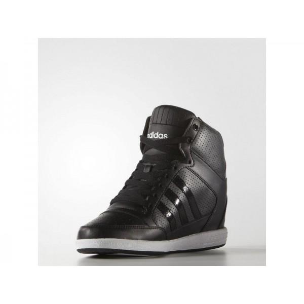SUPER WEDGE adidas Damen adidas neo Schuhe - Core-Schwarz/Core-Schwarz/Weiß Fwr